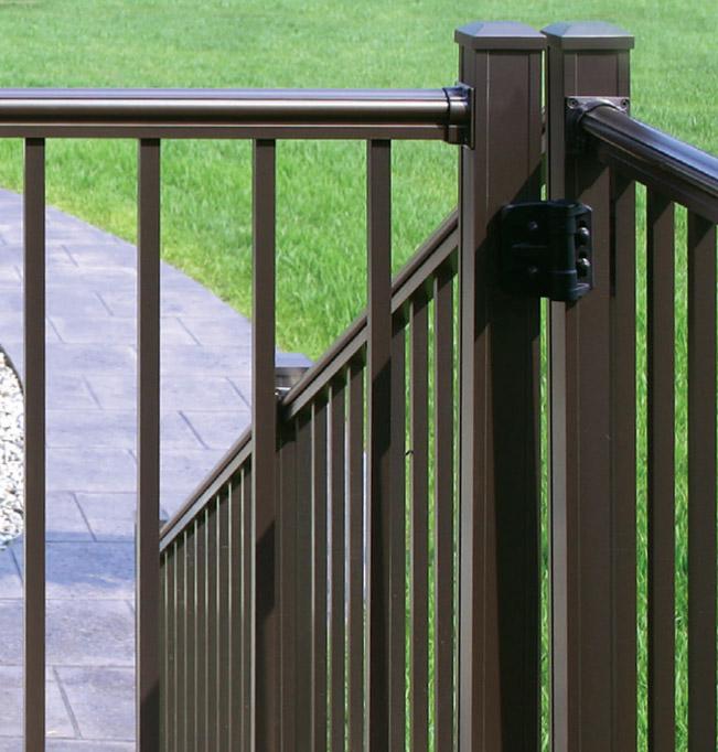 Vinyl vs aluminum railing homestead outdoor products