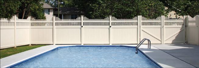 PrivacyFence for a Pool